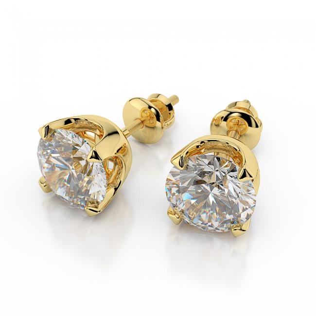 Menawan dengan Anting Emas Berlian, Ini Dia Rekomendasinya