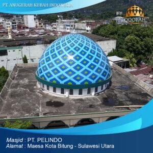 warna kubah masjid